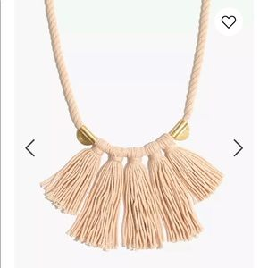 Madewell Cord Tassel Necklace